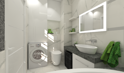 projekt łazienki Warszawa